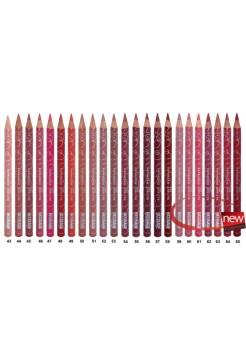 Карандаш для губ LUXVISAGE ® Тон 65 темно-бордовый
