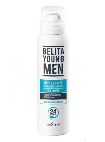 Дезодорант-антиперспирант ICE POWER (баллон 150мл BELITA YOUNG MEN)