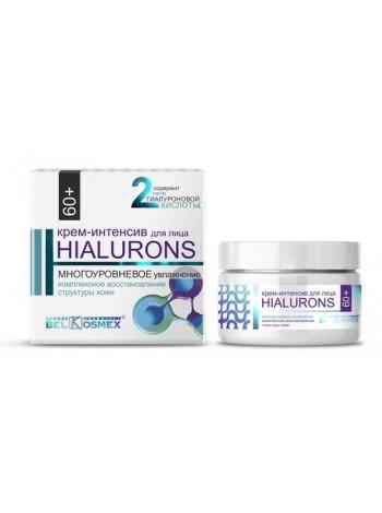Hialurons 60+ Крем-интенсив для лица многоуровн увлажн комл восст структ кожи 48мл