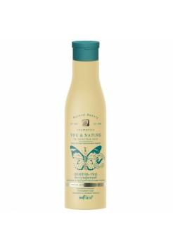 Шампунь-уход безсульфатный для волос и чувствительной кожи головы (250 мл Y&N)
