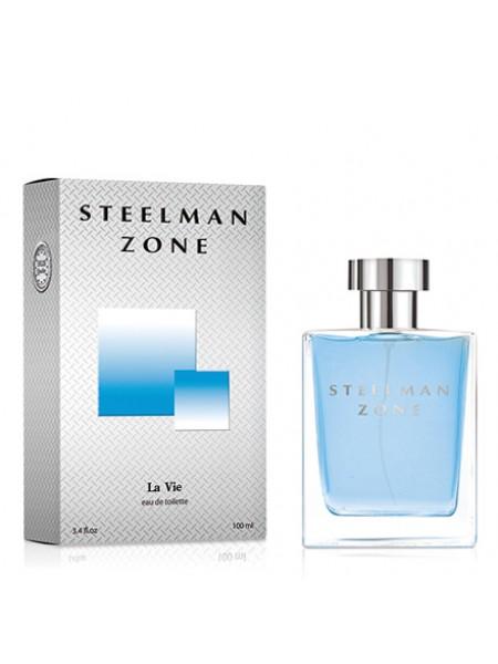 """Туалетная вода LA VIE """"Steelman Zone"""" (Аззаро Хром) 100/12 муж"""