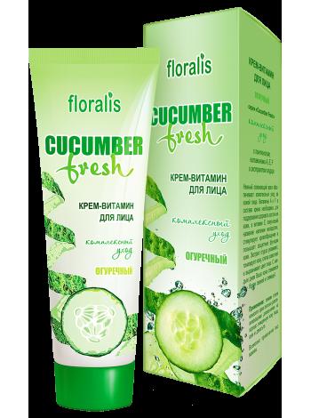 Крем-витамин для лица Огуречный 50г Cucumber Fresh