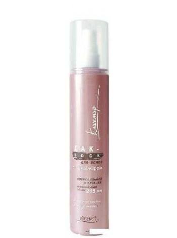 ЛАК-Maximum д/волос с протеинами кашемира и экстрактом бамбука макс. фикс-и, 215мл.
