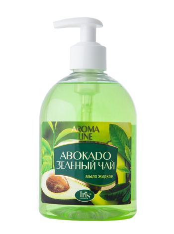 """Мыло жидкое Aroma Line """"Авокадо и зеленый чай"""""""