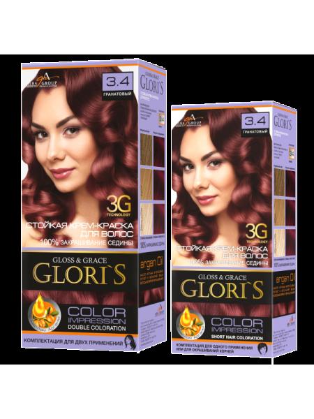 Гранатовый 3.4 Gloris для двух применений (ГЛОРИС-2)