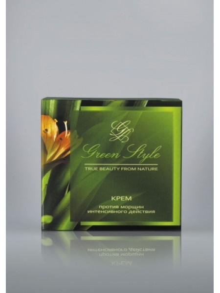 Крем против морщин интенсивного действия ( от 45лет, дневной), 45г Green Style