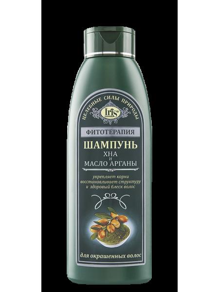 Шампунь Хна и масло арганы