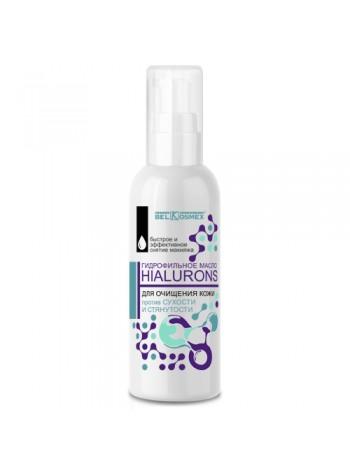гидрофильное масло для очищения кожи против сухости и стянутости HIALURONS 100мл