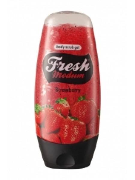 Гель-скраб для тела Strawberry, 250 мл MODUM FRESH