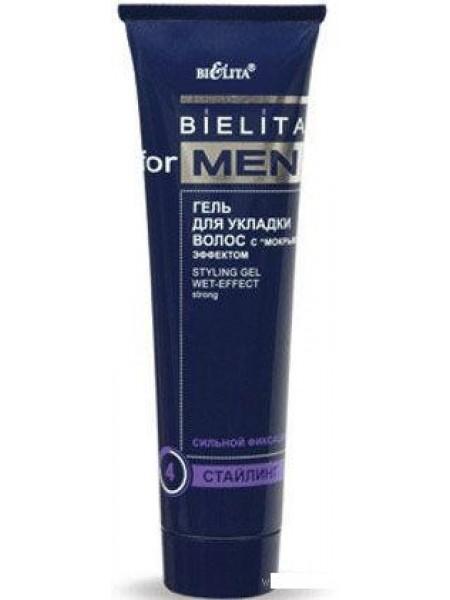 Гель для укл.волос с мокрым эффектом MEN (нов) 100 мл (туба)