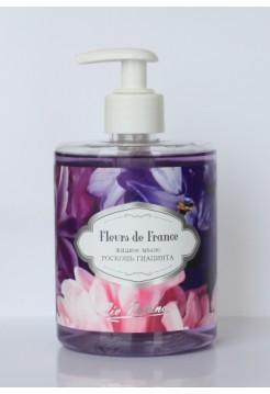 """Fleurs De France/ Жидкое мыло """" Роскошь гиацинта"""" (500г)"""