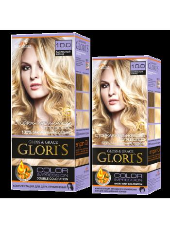 Ванильный блонд 10.0 Gloris для двух применений (ГЛОРИС-2)