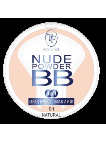 """TF пудра для лица """"Nude BB Powder"""", СТР15, тон 01 Camel""""/желтовато-коричневая"""