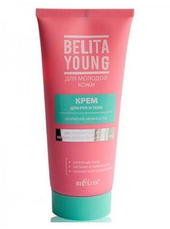 Крем для рук и тела Формула нежности (туба 150 мл Belita Young)