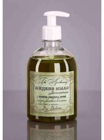 Жидкое мыло деликатное с экстрактами лекарственных растений имбиря, конского каштана, алоэ вера и мяты, 480г The Apothecary