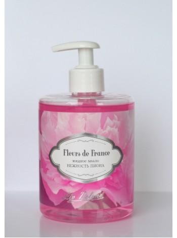 """Fleurs De France/ Жидкое мыло """" Нежность пиона """" (500г) -12 шт"""