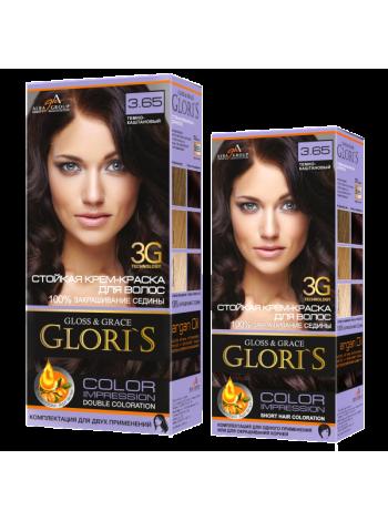Тёмно-каштановый 3.65 Gloris для двух применений (ГЛОРИС-2)