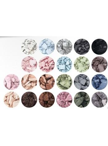 Микронизированные компактные тени для век ColorEyes РБ270-12 тон:101 Цвет:Цвет снега