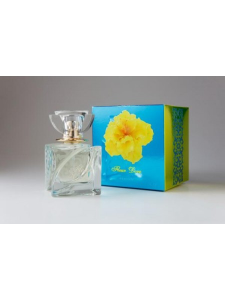 Духи для ЖЕН.«FLEUR DORE»,, 50 мл 20 шт. (верс.VERSACE YELLOW DIAMOND)