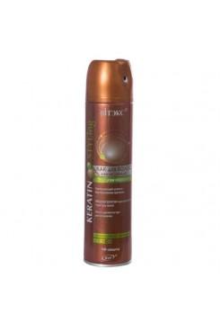 KERATIN STYLing ЛАК д/волос с жидким кератином СУПЕРСильной фиксации ,500мл.