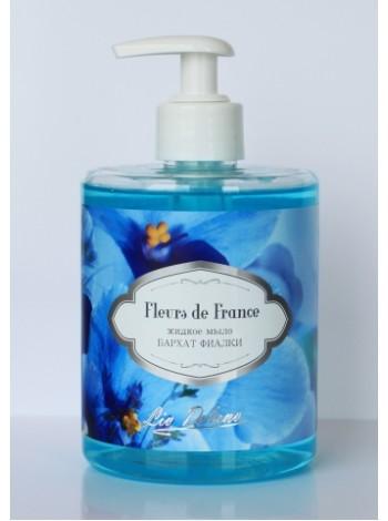 """Fleurs De France/ Жидкое мыло """" Бархат фиалки """" (500г) -12 шт"""