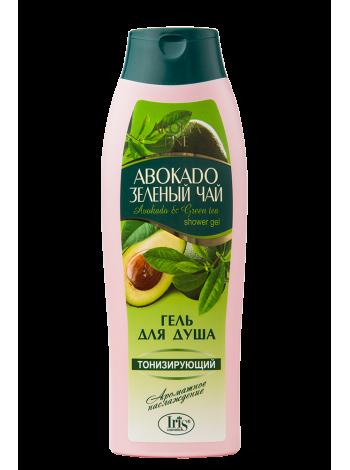 """Гель для душа """"Авокадо и зеленый чай"""""""