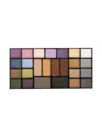 Набор теней Color Palette Eyeshadow, CTE25, тон 02 Микс серого и фиолетово-коричневого
