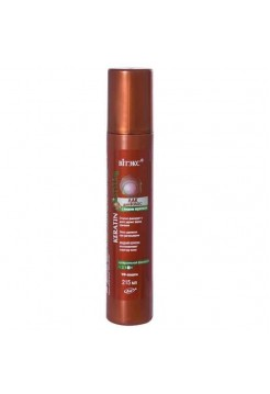 KERATIN STYLing ЛАК д/волос с жидким кератином СУПЕРСильной фиксации,215мл.