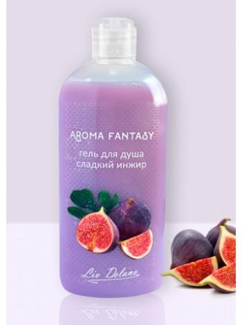 """Aroma Fantasy Гель для душа """"Сладкий инжир"""", 300 г"""
