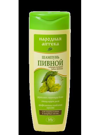 Шампунь Пивной (для нормальных и жирных волос)