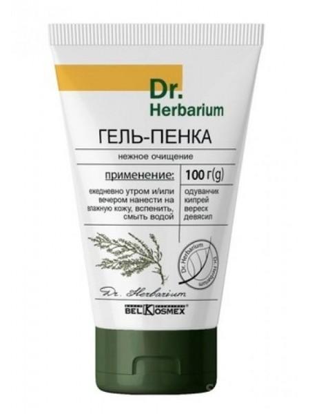 гель-пенка нежное очищение Dr. Herbarium 100