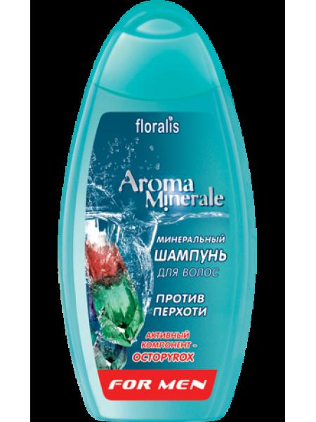 Минеральный шампунь для волос против перхоти For men 250г AromaMinerale