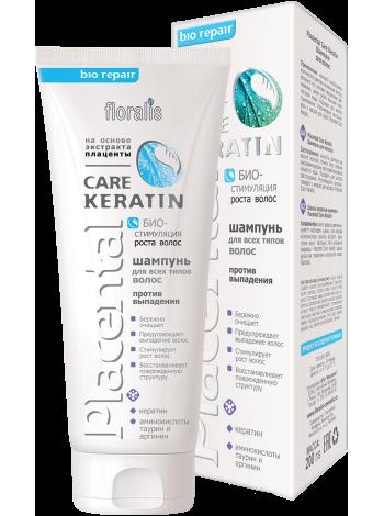 Placental Care Keratin Шампунь для волос 200г