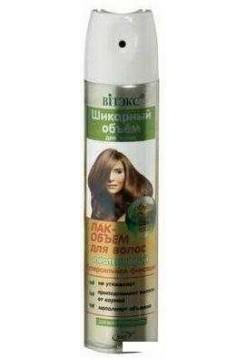 ШИКАРНЫЙ ОБЪЕМ д/волос ЛАК-ОБЪЕМ д/волос протеино-й С/Сильн.фик.д/всех типов волос,300мл.