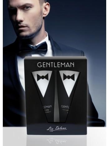 Gentleman Подарочный Набор (гель д/душа +шампунь д/всех тип.вол)