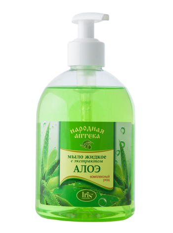 Мыло жидкое с экстрактом алоэ