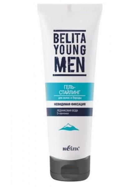Гель-стайлинг для волос и бороды (туба 100мл BELITA YOUNG MEN)