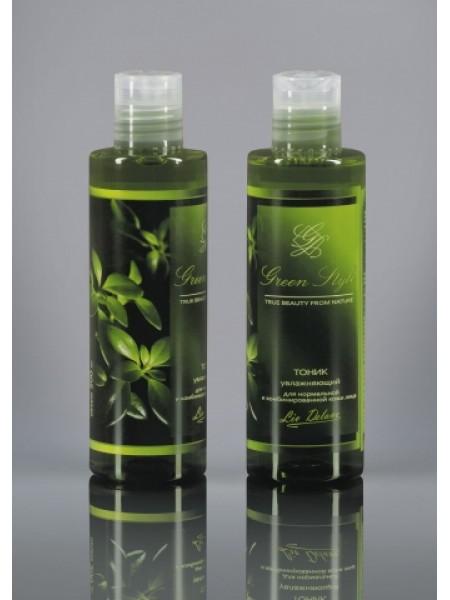 Тоник увлажняющий для нормальной и комбинированной кожи лица, 200мл Green Style