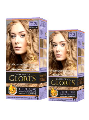 Светло-русый 7.3 Gloris для двух применений (ГЛОРИС-2)