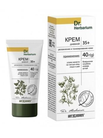 крем дневной 35+ увлажнение и тонизирование кожи Dr. Herbarium 40