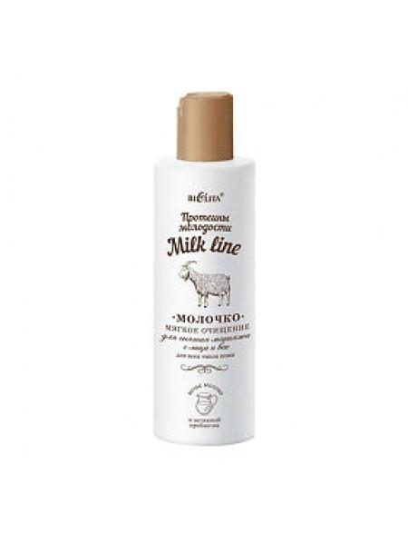 Молочко д/снятия макияжа с лица и век мягкое очищен. д/всех тип. кожи (200 мл)