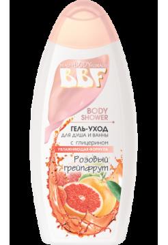 Гель-уход для душа и ванны Розовый грейпфрут 350 г BBF