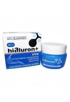 Hialuron+ Крем ИНТЕНС.УВЛАЖНЕНИЕ+УКРЕПЛ.ОВАЛА ЛИЦА д/всех типов кожи 48гр
