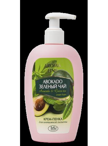 "Кр.-пенка д/интим.гигиены ""Aroma Line"" Авокадо и зел.чай"