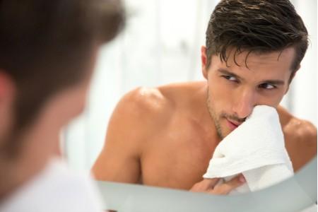 Уход за кожей лица для мужчин