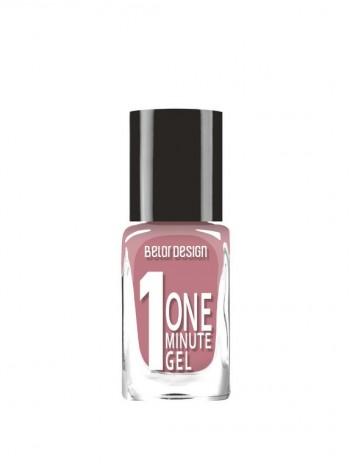 """Лак для ногтей """"One minute gel"""" тон 210 10мл/К4, Belor Design"""