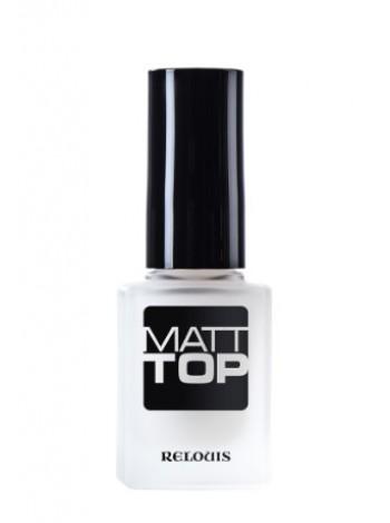 """У.Матовое верхнее покрытие лака для ногтей """"Matt Top"""" 1/6, Relouis"""