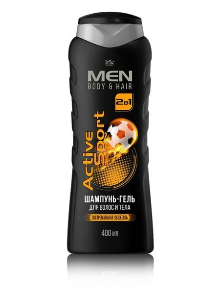 """MEN Шампунь-гель для волос и тела """"Active Sport"""" 400/12"""